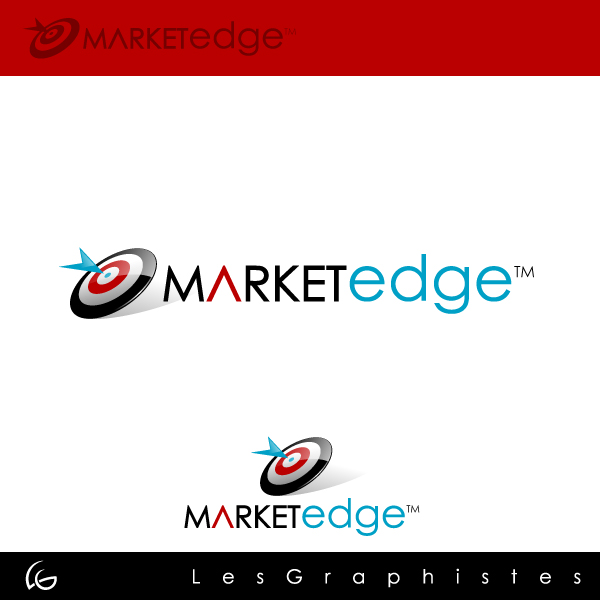 Logo Design by Les-Graphistes - Entry No. 144 in the Logo Design Contest Market Edge or Marketedge.