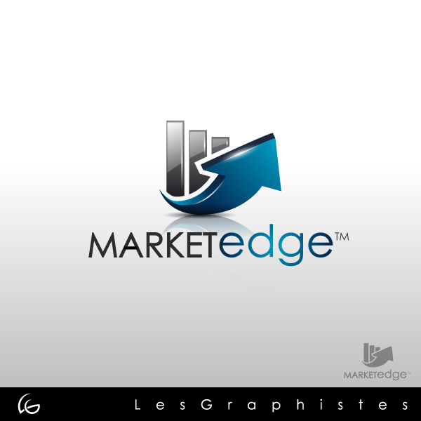 Logo Design by Les-Graphistes - Entry No. 154 in the Logo Design Contest Market Edge or Marketedge.