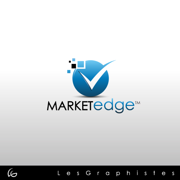 Logo Design by Les-Graphistes - Entry No. 155 in the Logo Design Contest Market Edge or Marketedge.