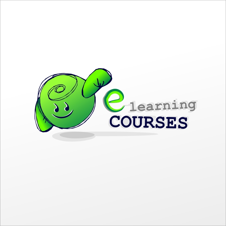 Logo Design by MaTe - Entry No. 115 in the Logo Design Contest Character for E-Learning Courses.