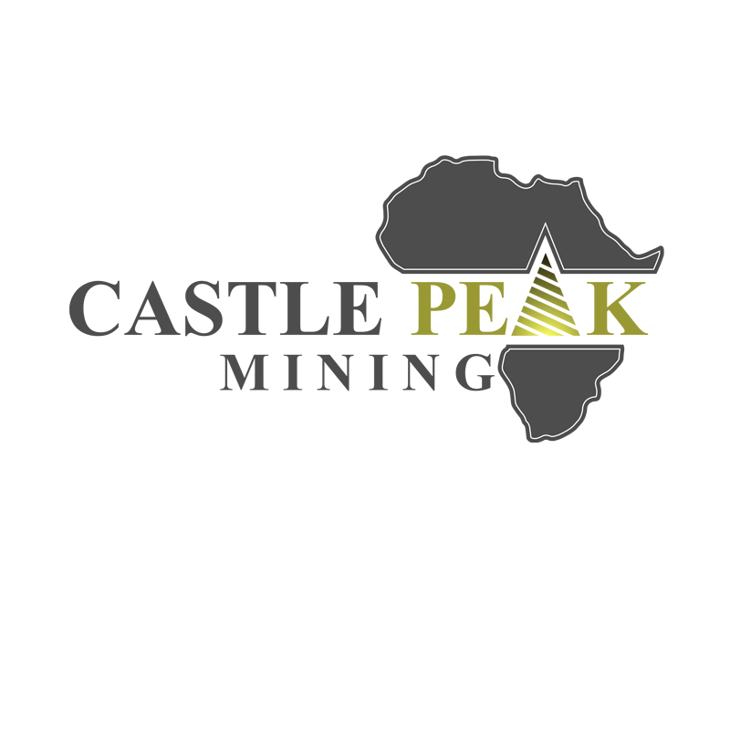 Logo Design by zams - Entry No. 46 in the Logo Design Contest Castle Peak Mining.