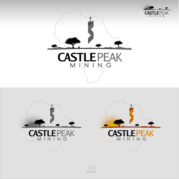 Logo Design by rockpinoy - Entry No. 48 in the Logo Design Contest Castle Peak Mining.