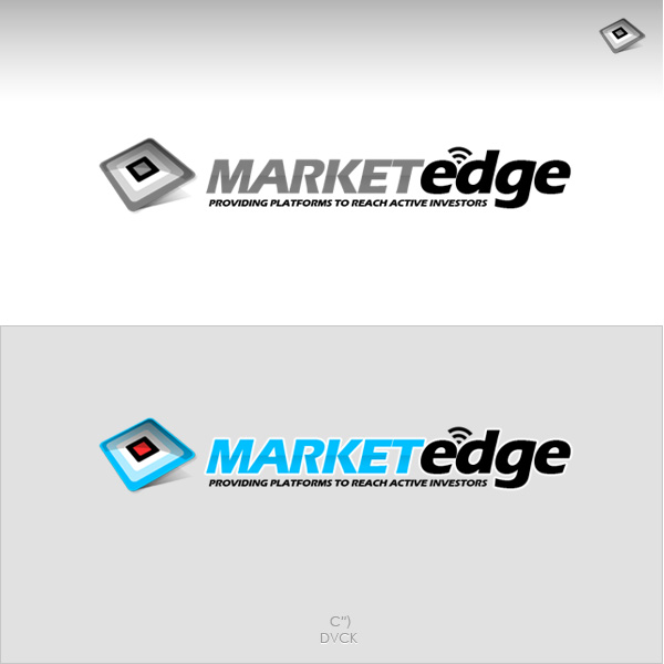 Logo Design by rockpinoy - Entry No. 172 in the Logo Design Contest Market Edge or Marketedge.