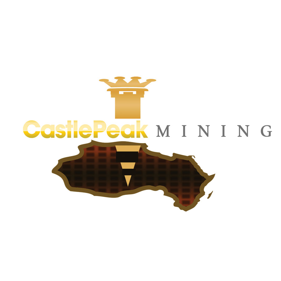Logo Design by Brian  Lu - Entry No. 55 in the Logo Design Contest Castle Peak Mining.