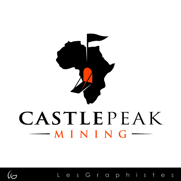 Logo Design by Les-Graphistes - Entry No. 58 in the Logo Design Contest Castle Peak Mining.