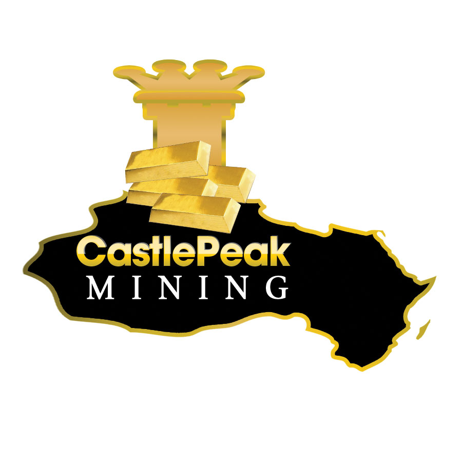 Logo Design by Brian  Lu - Entry No. 59 in the Logo Design Contest Castle Peak Mining.