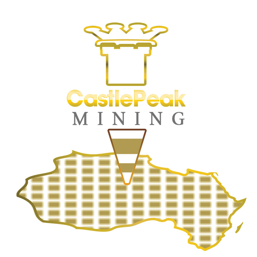Logo Design by Brian  Lu - Entry No. 62 in the Logo Design Contest Castle Peak Mining.