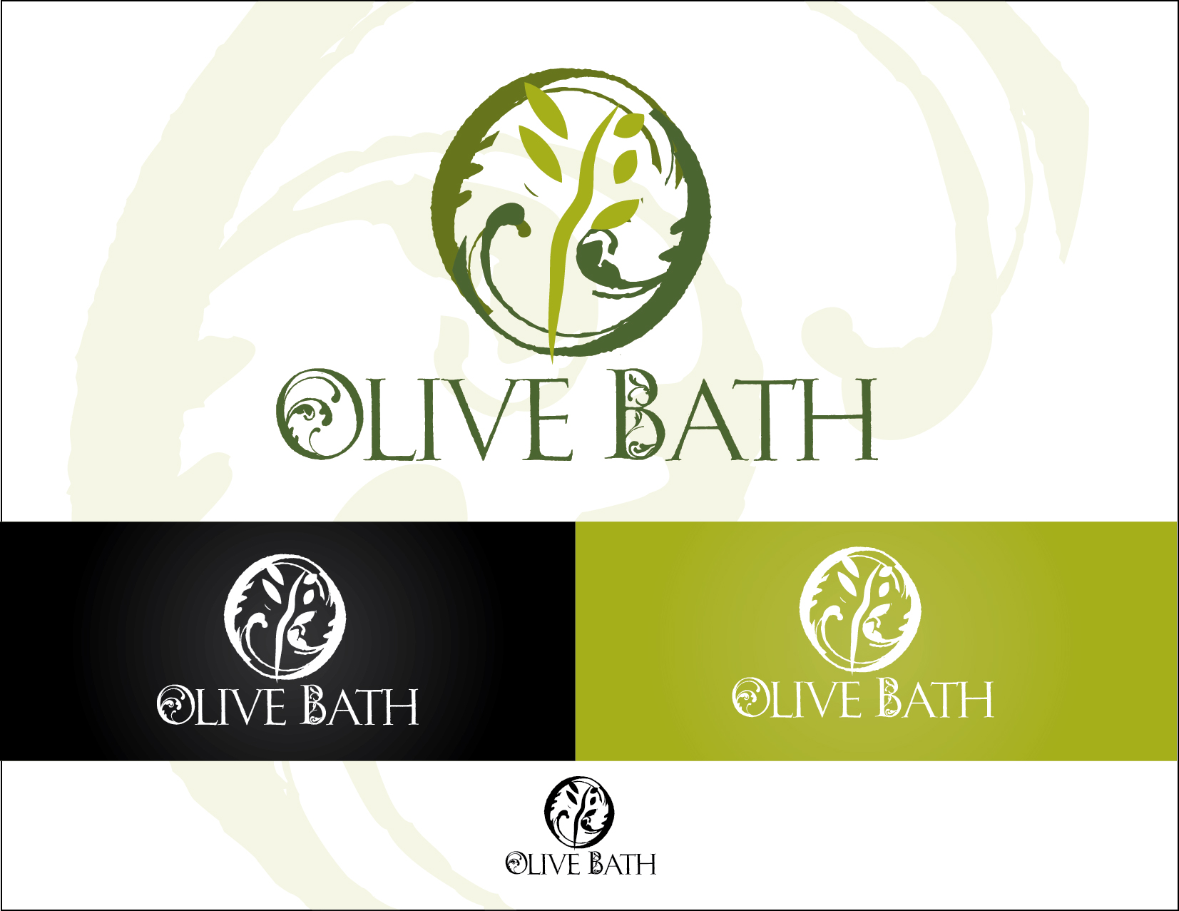 Logo Design Contests » Inspiring Logo Design for Olive Bath Soap ...