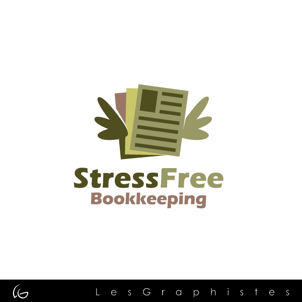 Logo Design by Les-Graphistes - Entry No. 10 in the Logo Design Contest StressFree Bookkeeping.