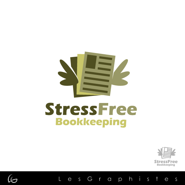 Logo Design by Les-Graphistes - Entry No. 11 in the Logo Design Contest StressFree Bookkeeping.
