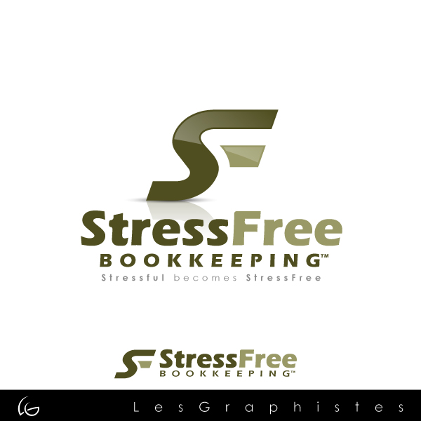 Logo Design by Les-Graphistes - Entry No. 22 in the Logo Design Contest StressFree Bookkeeping.