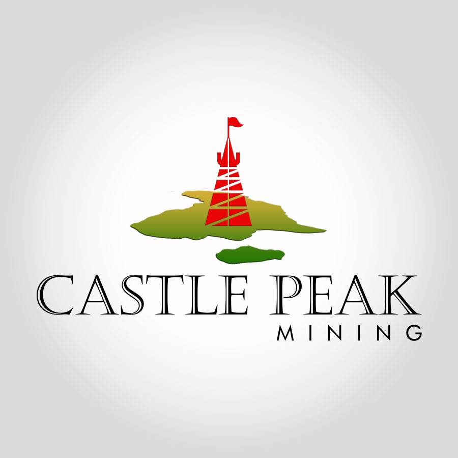 Logo Design by agb60 - Entry No. 69 in the Logo Design Contest Castle Peak Mining.