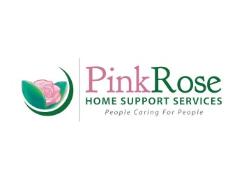 Logo Design by CRC-Designs - Entry No. 143 in the Logo Design Contest Pink Rose Home Support Services.