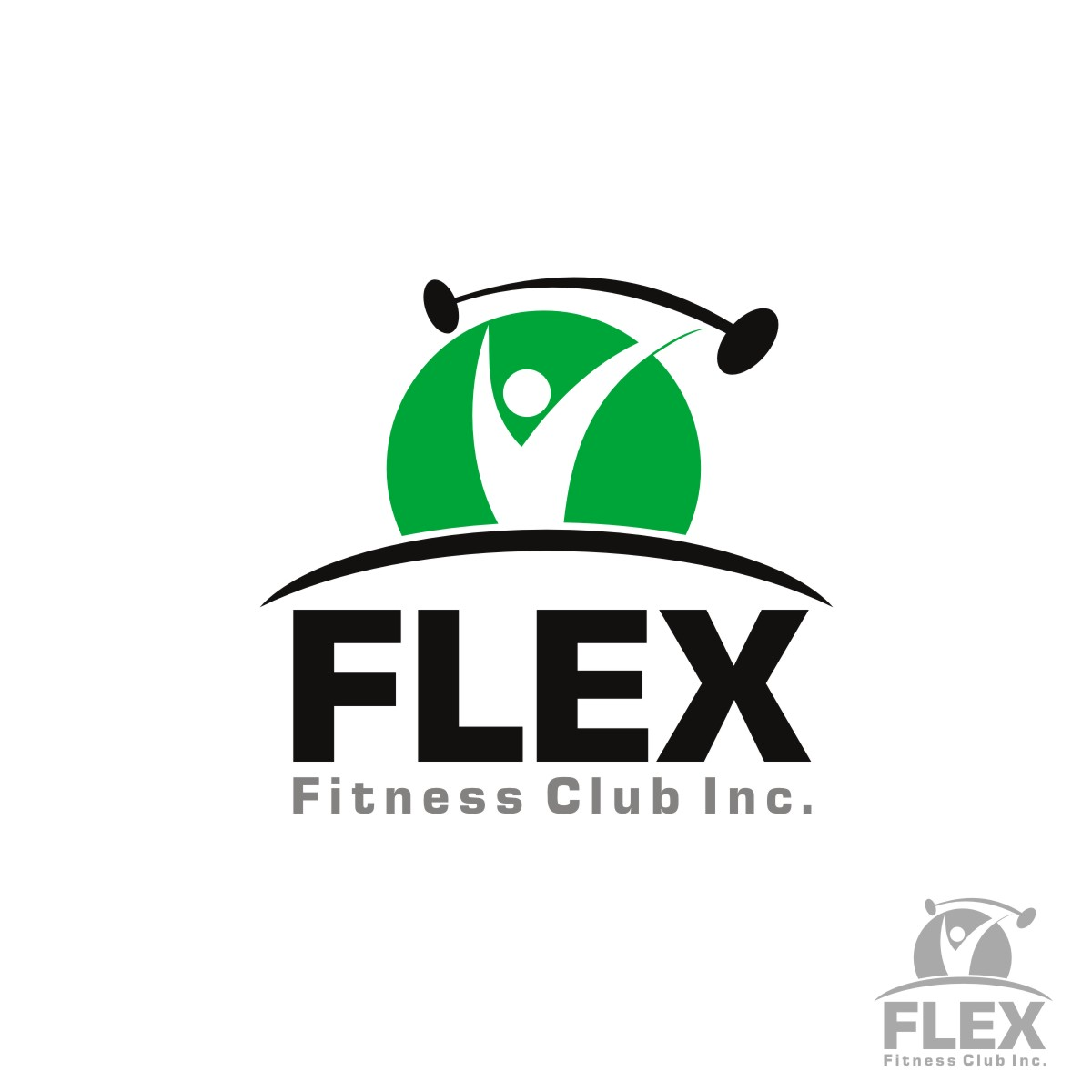 Logo Design by Upendra Sharma - Entry No. 62 in the Logo Design Contest New Logo Design for Flex Fitness Club Inc..