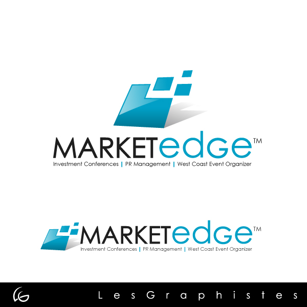 Logo Design by Les-Graphistes - Entry No. 189 in the Logo Design Contest Market Edge or Marketedge.