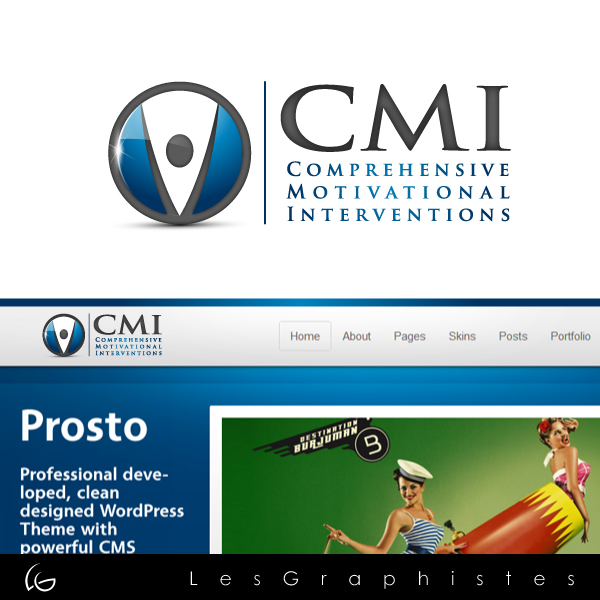 Logo Design by Les-Graphistes - Entry No. 3 in the Logo Design Contest CMI (Comprehensive Motivational Interventions).