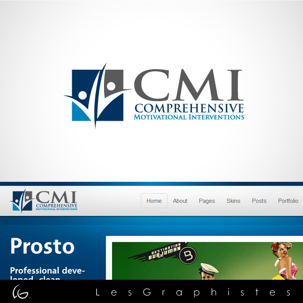 Logo Design by Les-Graphistes - Entry No. 7 in the Logo Design Contest CMI (Comprehensive Motivational Interventions).