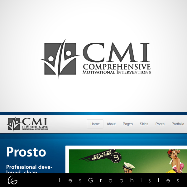 Logo Design by Les-Graphistes - Entry No. 8 in the Logo Design Contest CMI (Comprehensive Motivational Interventions).