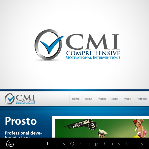 Logo Design by Les-Graphistes - Entry No. 9 in the Logo Design Contest CMI (Comprehensive Motivational Interventions).