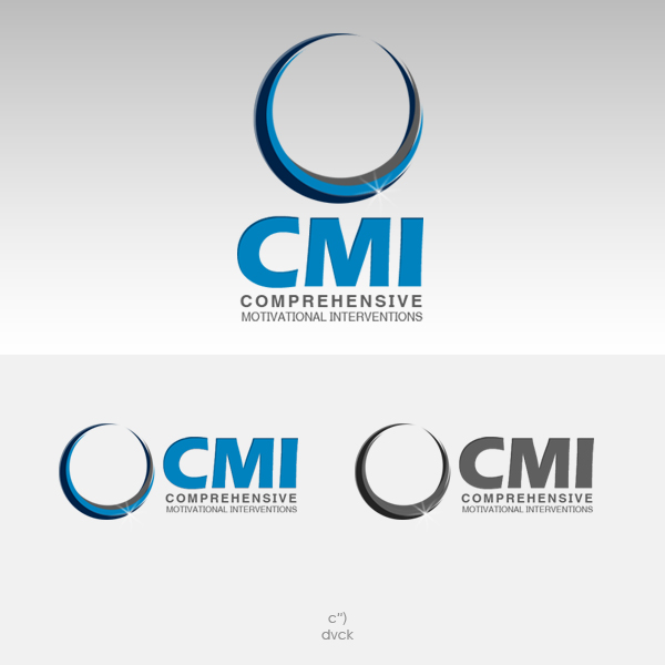 Logo Design by rockpinoy - Entry No. 11 in the Logo Design Contest CMI (Comprehensive Motivational Interventions).
