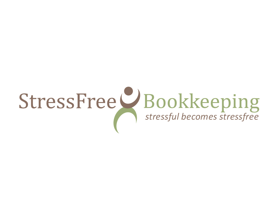 Logo Design by Aqif - Entry No. 47 in the Logo Design Contest StressFree Bookkeeping.