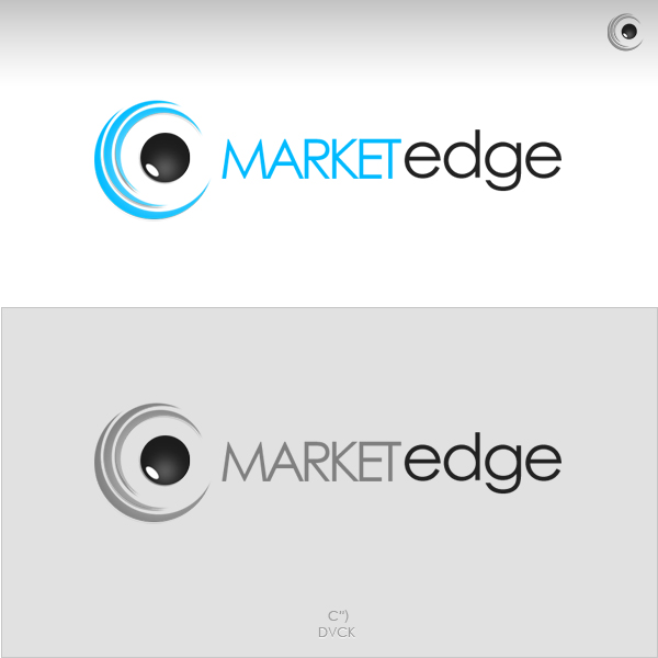 Logo Design by rockpinoy - Entry No. 229 in the Logo Design Contest Market Edge or Marketedge.