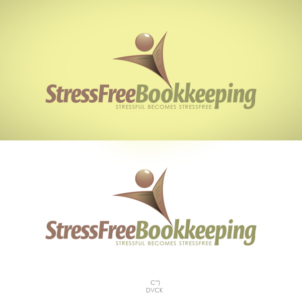 Logo Design by rockpinoy - Entry No. 48 in the Logo Design Contest StressFree Bookkeeping.