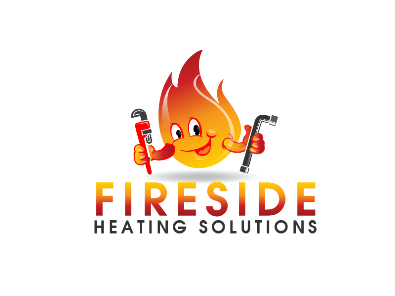 Logo Design by brands_in - Entry No. 10 in the Logo Design Contest Creative Logo Design for Fireside Heating Solutions Ltd..