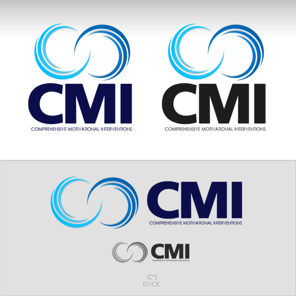 Logo Design by rockpinoy - Entry No. 14 in the Logo Design Contest CMI (Comprehensive Motivational Interventions).