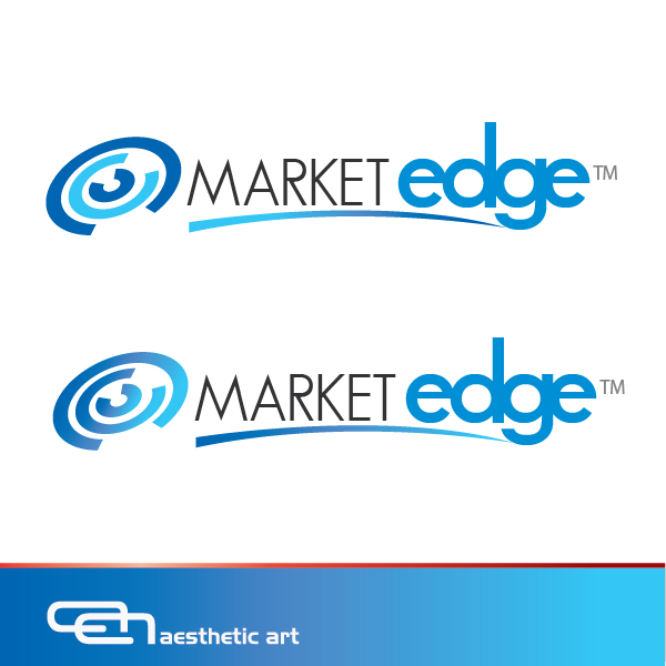 Logo Design by aesthetic-art - Entry No. 230 in the Logo Design Contest Market Edge or Marketedge.