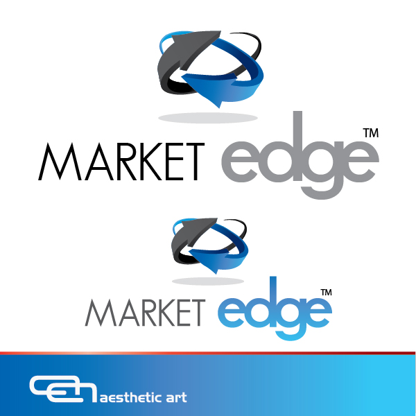 Logo Design by aesthetic-art - Entry No. 231 in the Logo Design Contest Market Edge or Marketedge.