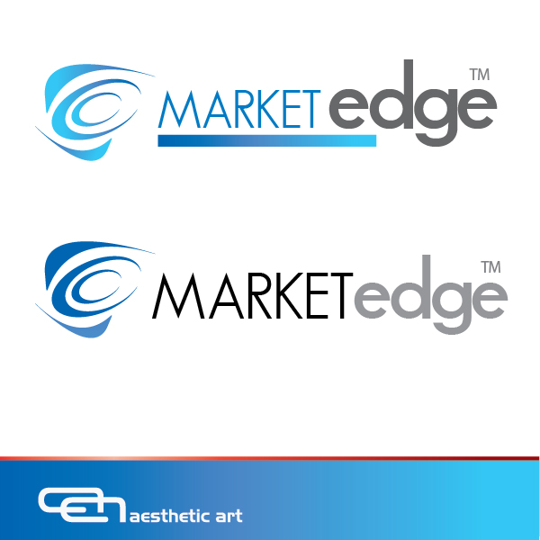 Logo Design by aesthetic-art - Entry No. 232 in the Logo Design Contest Market Edge or Marketedge.