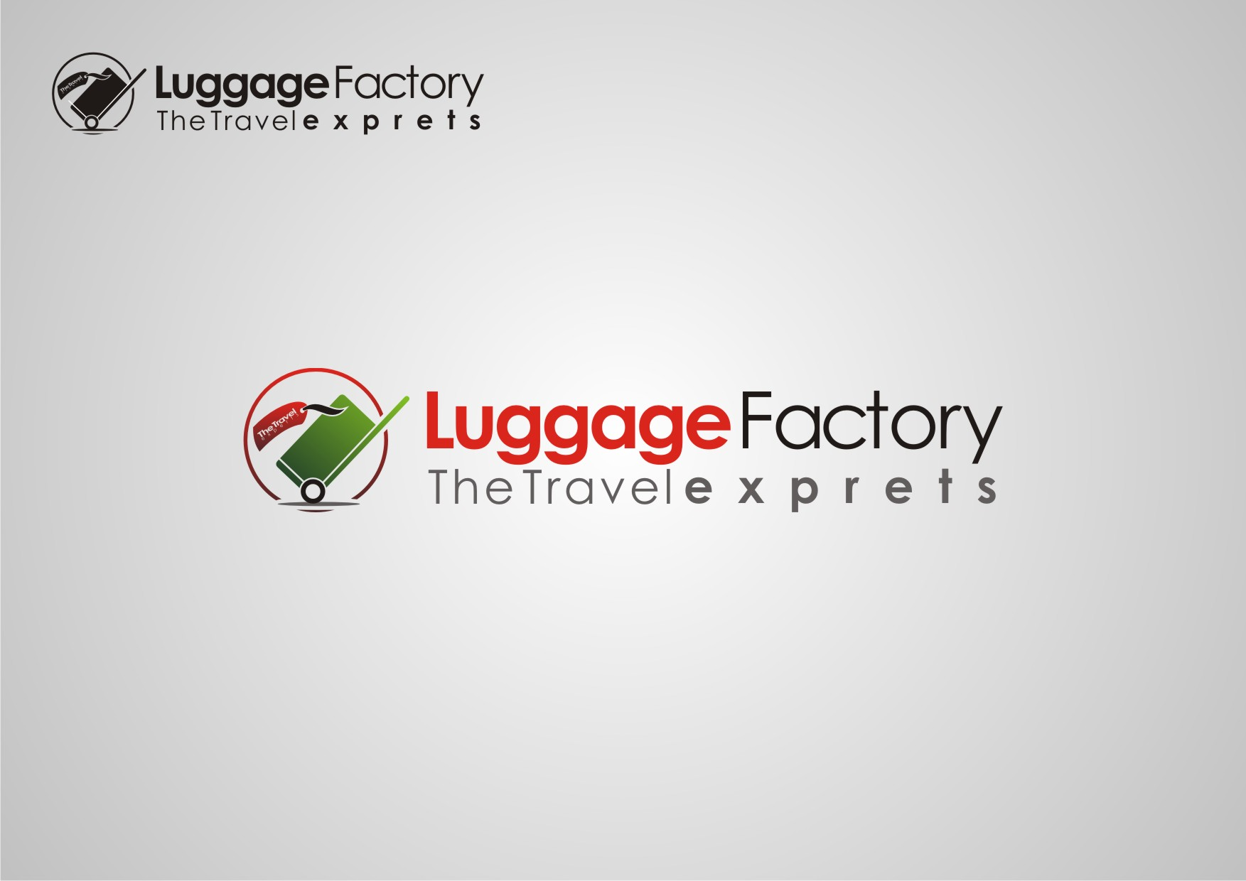 Logo Design by Private User - Entry No. 14 in the Logo Design Contest Creative Logo Design for Luggage Factory.
