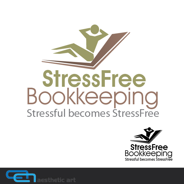 Logo Design by aesthetic-art - Entry No. 53 in the Logo Design Contest StressFree Bookkeeping.