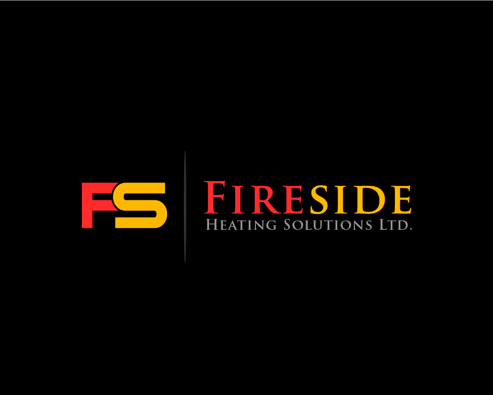 Logo Design by Juan Luna - Entry No. 12 in the Logo Design Contest Creative Logo Design for Fireside Heating Solutions Ltd..