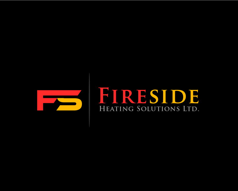 Logo Design by Juan Luna - Entry No. 13 in the Logo Design Contest Creative Logo Design for Fireside Heating Solutions Ltd..
