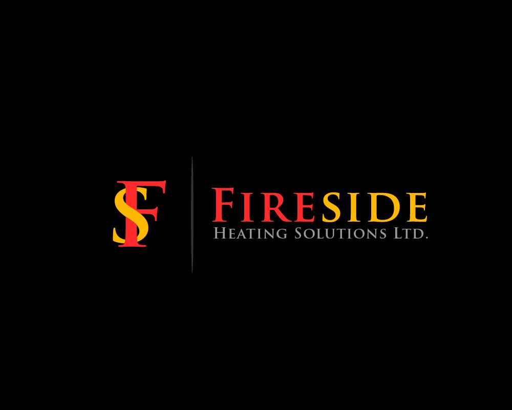Logo Design by Juan Luna - Entry No. 15 in the Logo Design Contest Creative Logo Design for Fireside Heating Solutions Ltd..