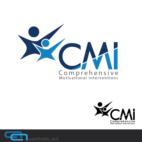 Logo Design by aesthetic-art - Entry No. 19 in the Logo Design Contest CMI (Comprehensive Motivational Interventions).