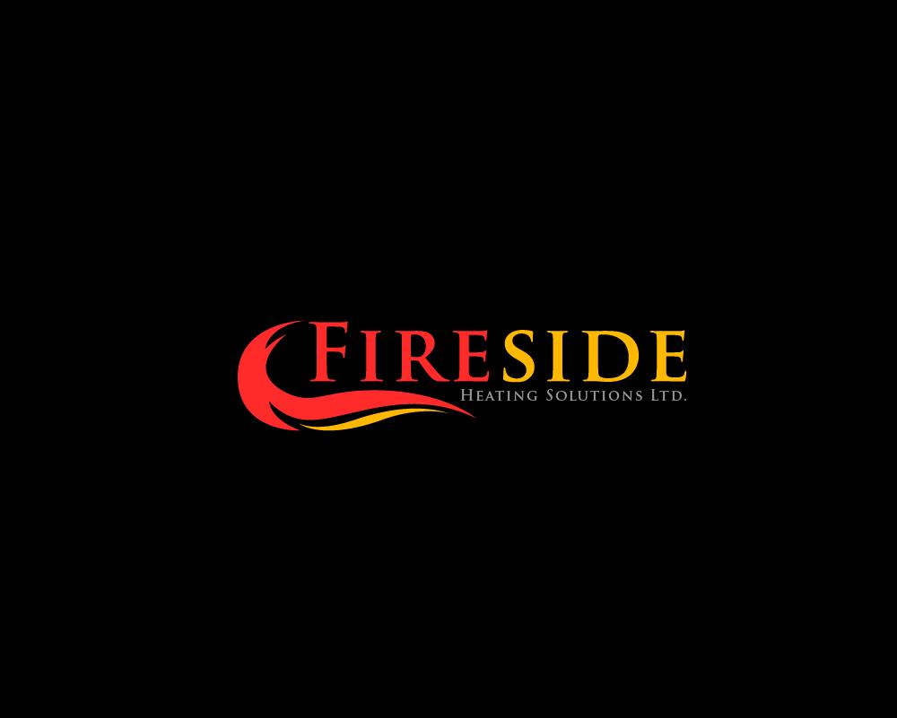 Logo Design by Juan Luna - Entry No. 16 in the Logo Design Contest Creative Logo Design for Fireside Heating Solutions Ltd..