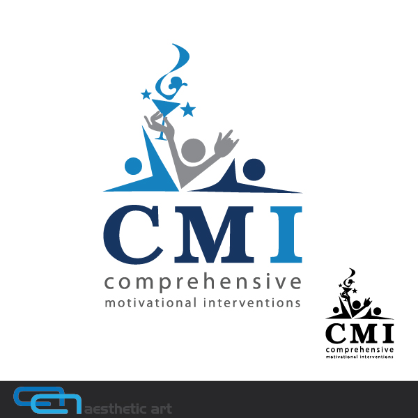 Logo Design by aesthetic-art - Entry No. 20 in the Logo Design Contest CMI (Comprehensive Motivational Interventions).