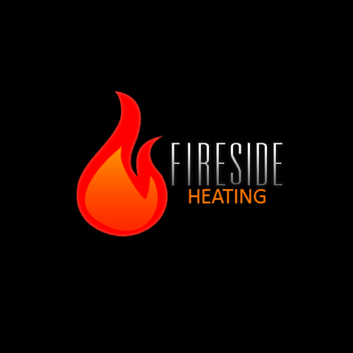 Logo Design by Drmdrew - Entry No. 19 in the Logo Design Contest Creative Logo Design for Fireside Heating Solutions Ltd..