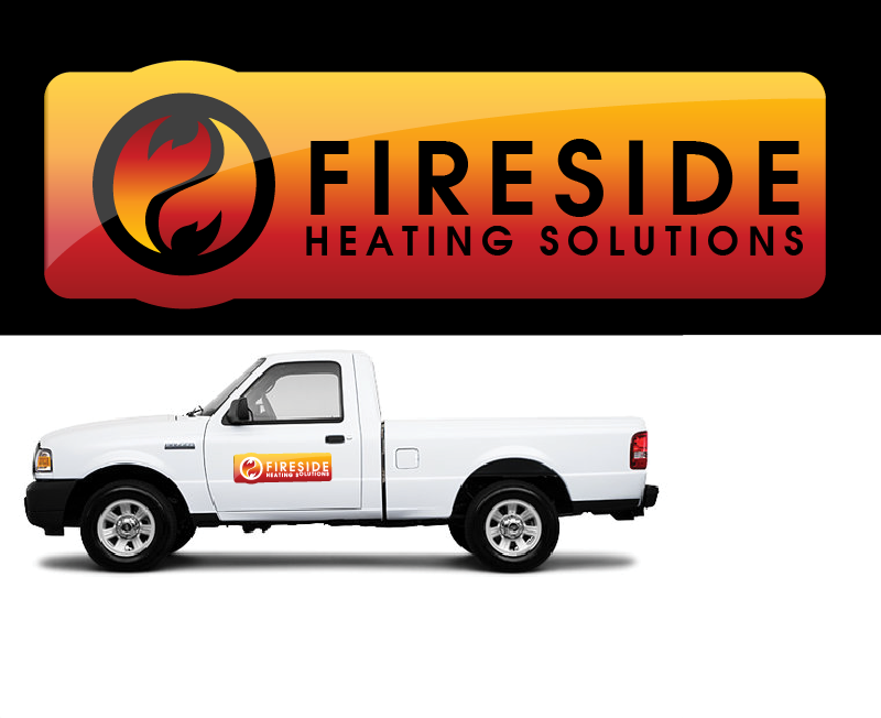 Logo Design by Private User - Entry No. 32 in the Logo Design Contest Creative Logo Design for Fireside Heating Solutions Ltd..