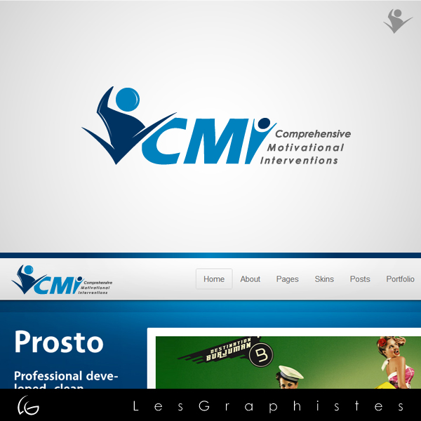 Logo Design by Les-Graphistes - Entry No. 30 in the Logo Design Contest CMI (Comprehensive Motivational Interventions).
