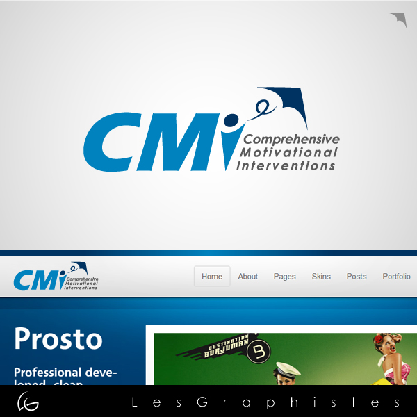 Logo Design by Les-Graphistes - Entry No. 32 in the Logo Design Contest CMI (Comprehensive Motivational Interventions).