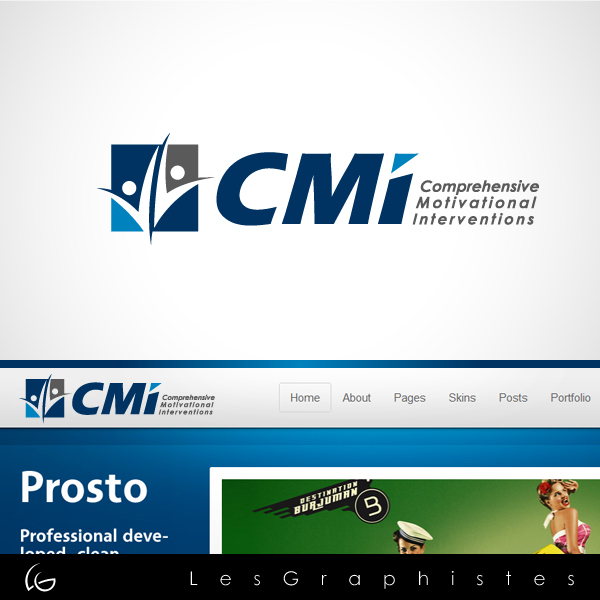 Logo Design by Les-Graphistes - Entry No. 34 in the Logo Design Contest CMI (Comprehensive Motivational Interventions).