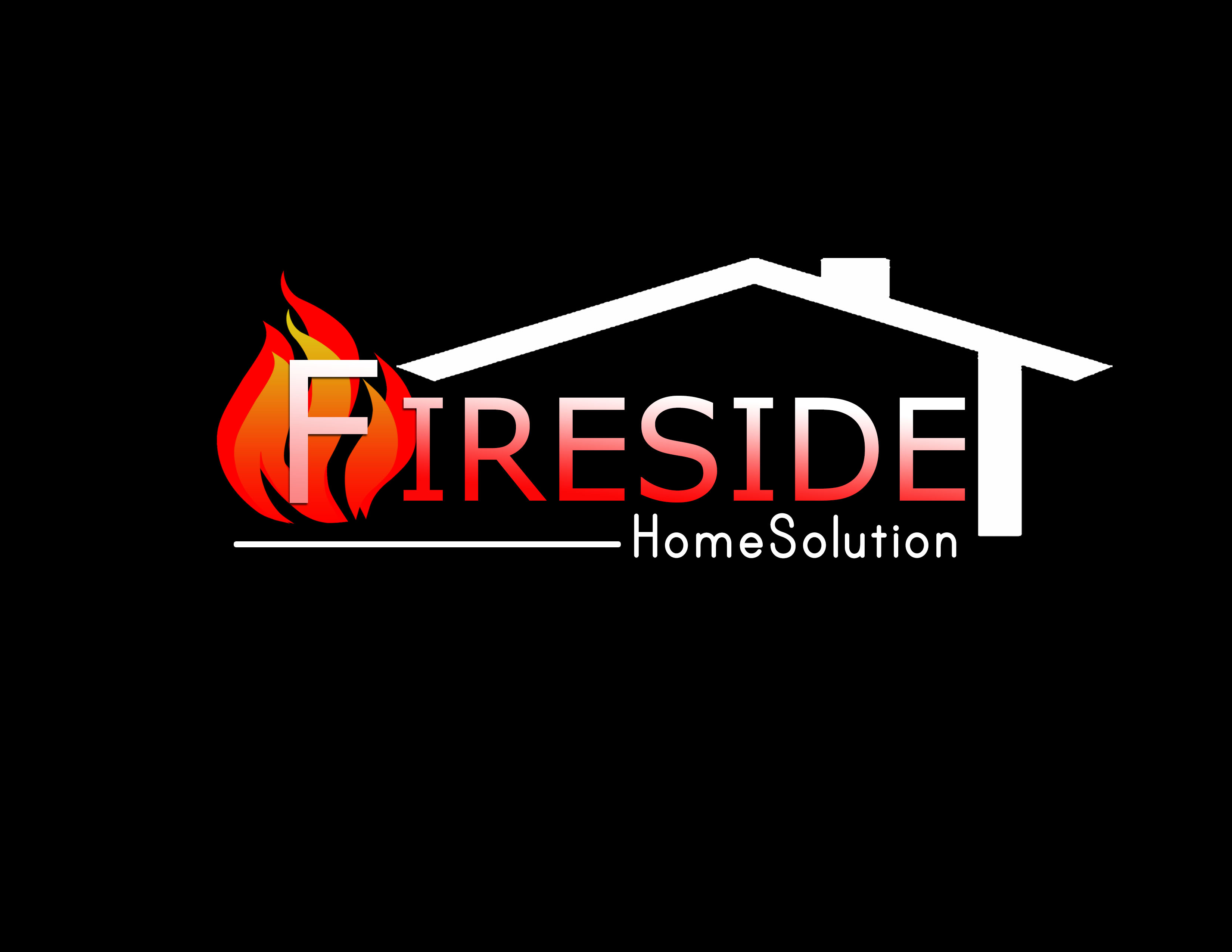 Logo Design by Kathrina Arceta - Entry No. 34 in the Logo Design Contest Creative Logo Design for Fireside Heating Solutions Ltd..