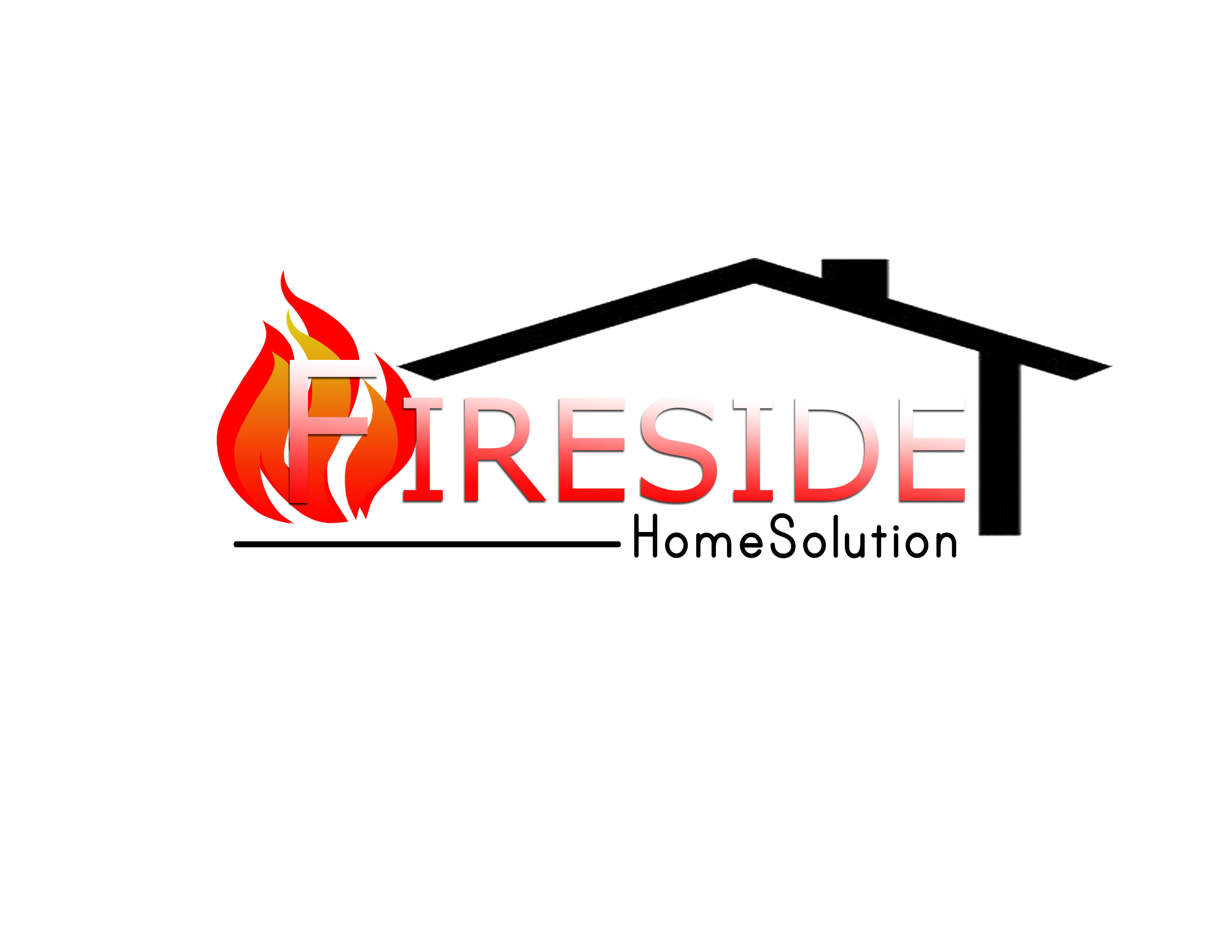 Logo Design by Kathrina Arceta - Entry No. 35 in the Logo Design Contest Creative Logo Design for Fireside Heating Solutions Ltd..