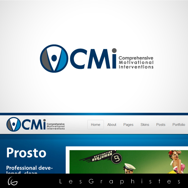 Logo Design by Les-Graphistes - Entry No. 37 in the Logo Design Contest CMI (Comprehensive Motivational Interventions).