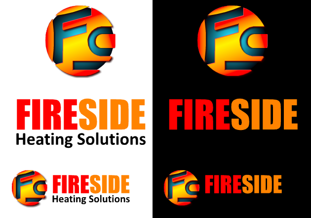 Logo Design by Ismail Adhi Wibowo - Entry No. 46 in the Logo Design Contest Creative Logo Design for Fireside Heating Solutions Ltd..