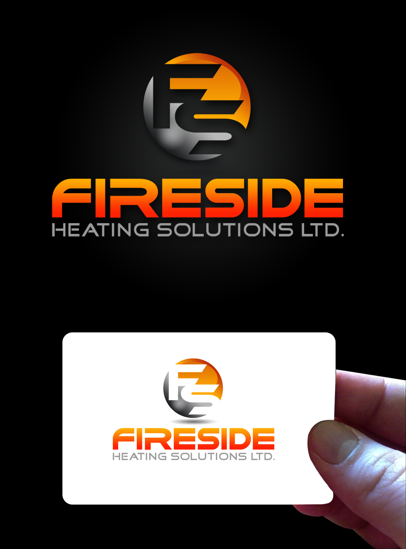Logo Design by Private User - Entry No. 50 in the Logo Design Contest Creative Logo Design for Fireside Heating Solutions Ltd..